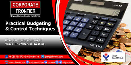 Practical Budgeting & Control Techniques tickets