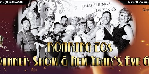 New Year's Eve Roaring 20's Gala  & Count Down Party Palm Springs