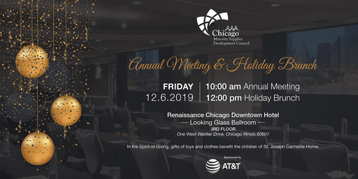 2019 ChicagoMSDC Annual Meeting & Holiday Brunch