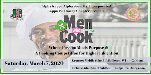 AKA Sorority, Inc. - Kappa Psi Omega 2020 Men Who Cook Sponsor Packages