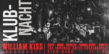 Klubnacht 2 - Imperial Hotel tickets