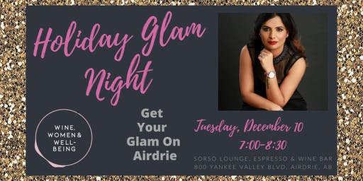 Holiday Glam Night, Makeup Workshop: Airdrie