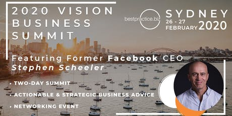 2020 Vision Business Summit tickets