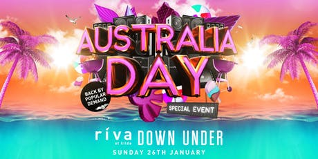 Riva Down Under - Australia Day Special Event tickets