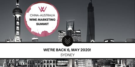 2020 WCA China-Australia Wine Marketing Summit tickets