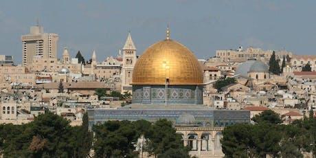 Holy Land Tour To Israel November 17, 2020 billets