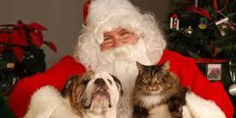 Pet Pictures with Santa Paws tickets