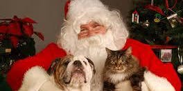 Pet Pictures with Santa Paws