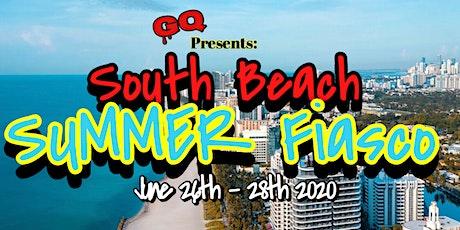 GQ presents Summer Fiasco South Beach edition. tickets