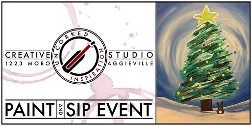 Paint & Sip | Christmas Bunny