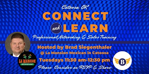 Catoosa, OK: Connect & Learn | Professional Networking and Sales Training