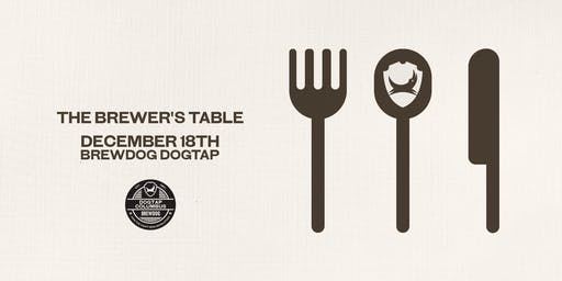 The Brewers Table - Beer Dinner