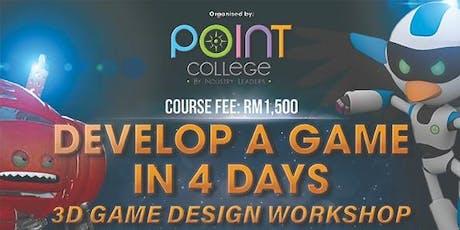3D Game Workshop tickets