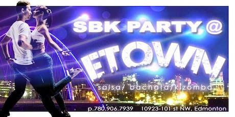 SBK (SALSA/BACHATA/KIZOMBA) SOCIAL PARTY  tickets