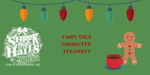 Shrek The Halls- Fairy Tale Character Tea Party