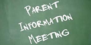 Parent Informational Meeting 2020-2021 - 1/14/20