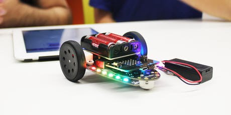 School Holiday Workshops - Robotics Playground with Cross River Rail tickets