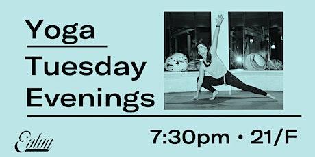 Vinyasa Yoga at Eaton HK tickets