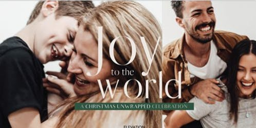 'JOY TO THE WORLD'