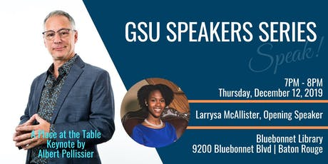 GSU Speaking Series | A Place at the Table - Personal & Prof Development tickets