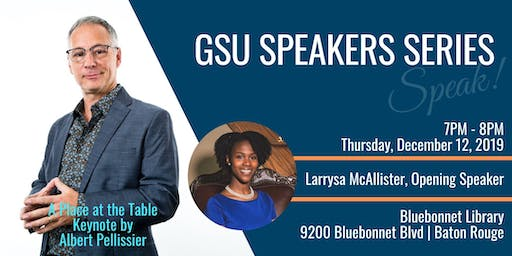 GSU Speaking Series | A Place at the Table - Personal & Prof Development