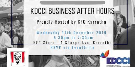 KDCCI BAH December 2019- KFC tickets