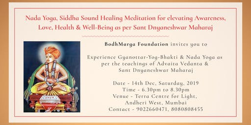 Free Nada Yoga, Siddha Sound Healing For Love, Health & Well-Being