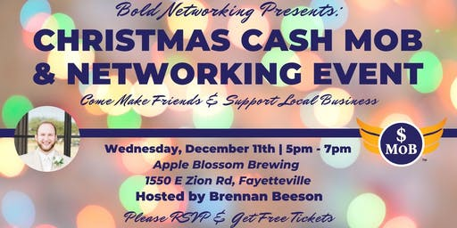 NWA Bold Christmas Cash Mob & Networking Event