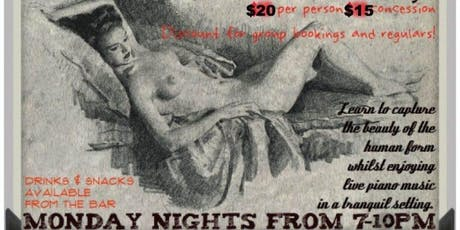 Sketch Club Life Drawing Class tickets