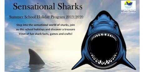 Sensational Sharks - School Holiday Program tickets