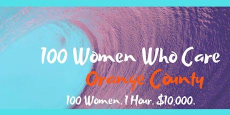 100 Women Who Care Orange County tickets