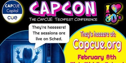 CAPCON: CapCUE Techfest 2020