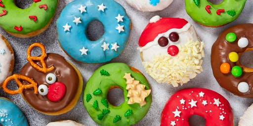 Festive Donut Decorating