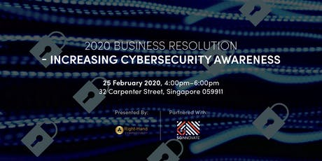 2020 Business Resolution: Increasing Cybersecurity Awareness tickets