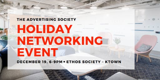 The Advertising Society Holiday Mixer