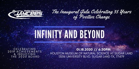 2020 Infinity & Beyond Gala - Celebrating 35 Years of Positive Change tickets