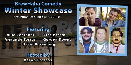 BrewHaha Comedy Winter Showcase tickets