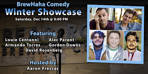 BrewHaha Comedy Winter Showcase