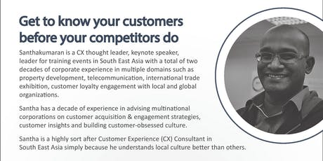 16 Dec 2019  (FREE)   Get to Know Your Customers Before Your Competitors Do tickets