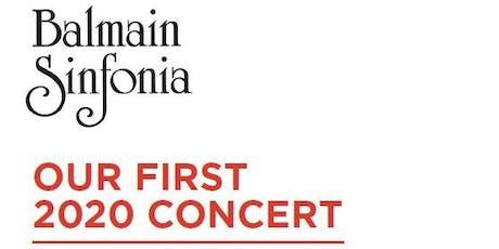 The Balmain Sinfonia | First Concert 2020 tickets