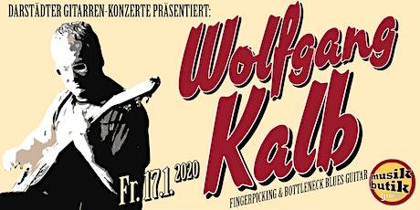 Wolfgang Kalb (Blues) - Darstädter Gitarren-Konzerte Tickets