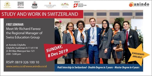 STUDY AND WORK IN SWITZERLAND