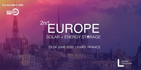 2nd Europe Solar + Energy Storage 2020 tickets