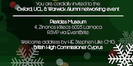 Oxford, UCL, Warwick Alumni Networking event tickets