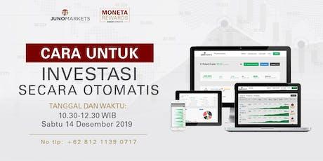 Jakarta - Bagaimana menjadi Investor cerdas tickets