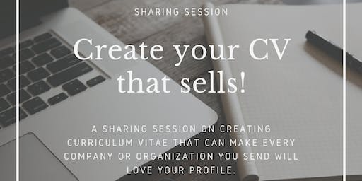 Create your CV that Sells!