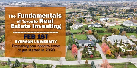 The Fundamentals of Toronto Real Estate Investing tickets