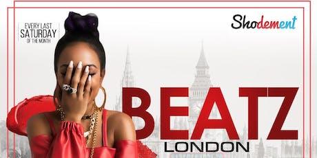 BEATZ LONDON X JESUS AMORETTI IN SOHO tickets