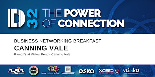 District32 Business Networking Perth – Canning Vale - Thu 05th Mar