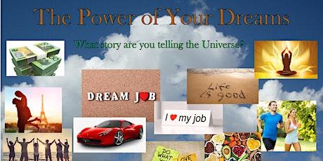Dream Board Workshop - Reveal & unlock your future dreams tickets